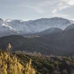 widok na col di Vergio