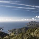 Korsyka, widok w stronę Girolata