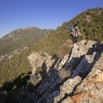 grzbiet, którym Mare a Monti schodzi na Bocca a Croce