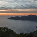 zejście na Bocca a Croce, Korsyka, styczeń