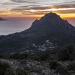 Bocca a Croce, Korsyka Styczeń