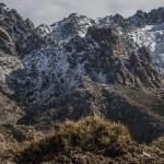 widok na zbocze Paglia d'Orba znad schronu Puscaghja