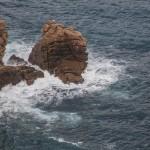 wybrzeże w Golfe de Porto