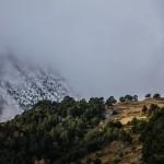 Port de Salau, Pireneje, listopad