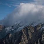 grzbiet Mont Roig, Pireneje listopad