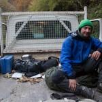 nasz autostop, Pireneje listopad