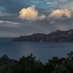 Półwysep Scandola, Korsyka, styczeń