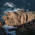 nadmorskie urwisko, Korsyka, styczeń