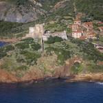Girolata, Korsyka, styczeń