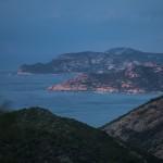 widok w stronę Galeria, Korsyka, styczeń