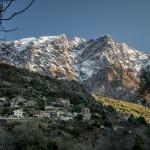 jedna z wiosek w dolinie Fango