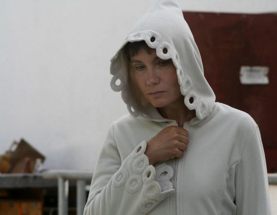 płaszcz z Polartec Windpro Bajka