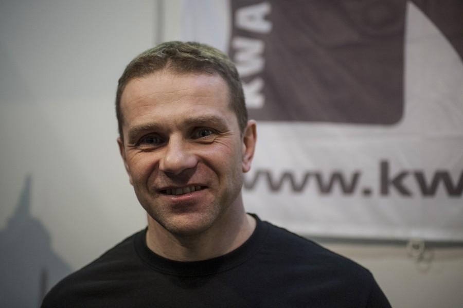 instruktor nurkowy Wojciech Tuchliński