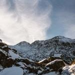 szlak wokól cyrku Cagateille, Pireneje, listopad