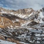 powrót z Col de la Cornella