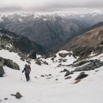 zejście z Collada de Mont Roig do Francji?