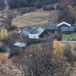 Quenca, Pireneje, listopad