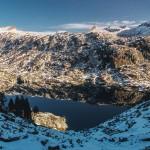 lac Certascan widziany z Col de Certascan