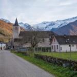l'Ariail, Pireneje, listopad