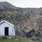 refuge Hillette, Pireneje, listopad