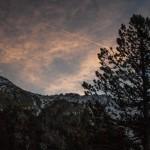 biwak nad Estany Guerroso, Pireneje, listopad
