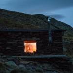 cabana na drodze na Pic Ventolau