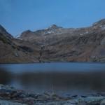 Estany de la Gola, Pireneje listopad