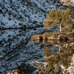 Estany Romedo de Dalt Pireneje, listopad