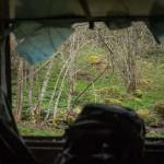 widok z okna refuge Clarans