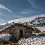 Pireneje, kwiecień Cabane Sabine