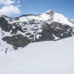 Pireneje, kwiecień, zejście z Port Siguer