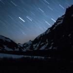 nocne niebo nad naszą kolibą