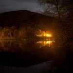 les Forges d'Ascou nocą