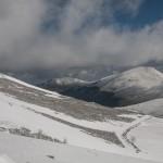 widok z Col de Pailheres na północ