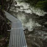 ścieżka w kanionie Caranca