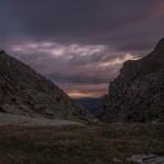 wieczór nad Gorges de la Freser