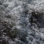 pireneje kwiecień, maj 2015- szalejąca rzeka