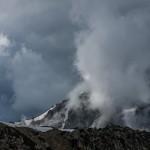 andorska granica w czasie burzy