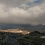 widok w stronę przełęczy Vallcivera, Andora