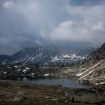 Jezioro Montmalus z góry