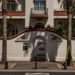 Perpignan, główna ulica prowadząca z dworca do historycznego centrum