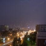 czerwcowa burza w Warszawie
