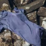 wełniana koszulka Abeille z krótkim rękawem przepis prania
