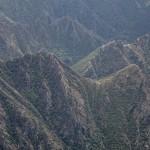 niskie partie Vall Ferrera z góry