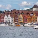 Bergen- zabytkowa dzielnica Bryggen