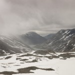 widok na Lundalsvatnet
