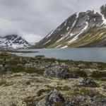 widok w górę Lundadalen