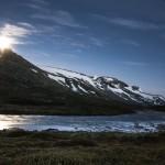 wschód księżyca, Lundadalen