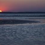 zachód słońca w świnoujściu