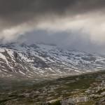 Reinheimen, deszczowe chmurska